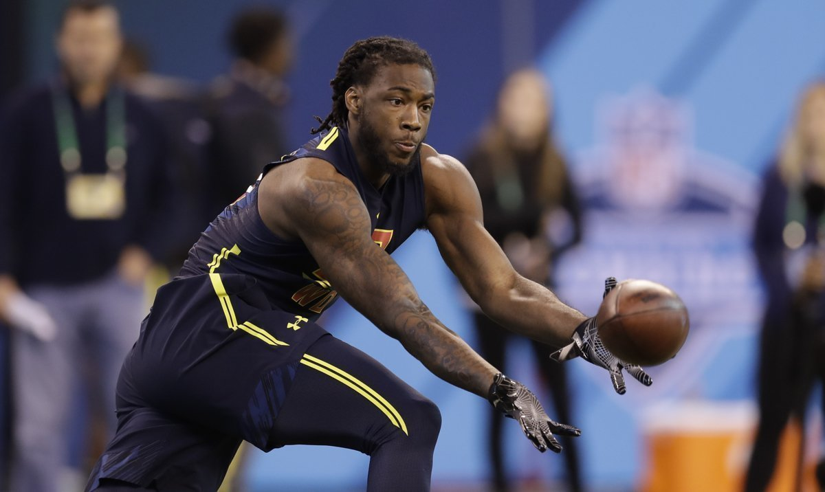 Chargers throw NFL draft a curve take Clemson wide receiver Mike Williams with the seventh pick