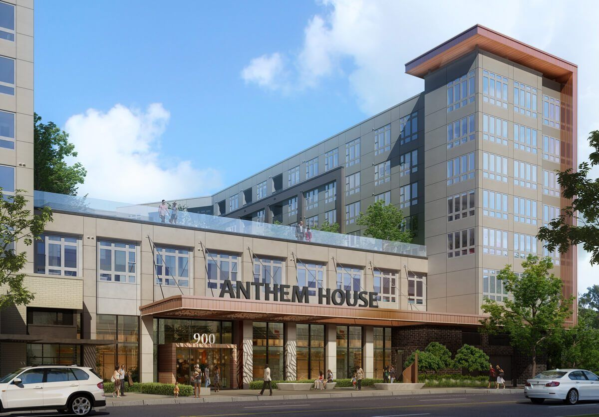 anthem house apartments in locust point to open in june