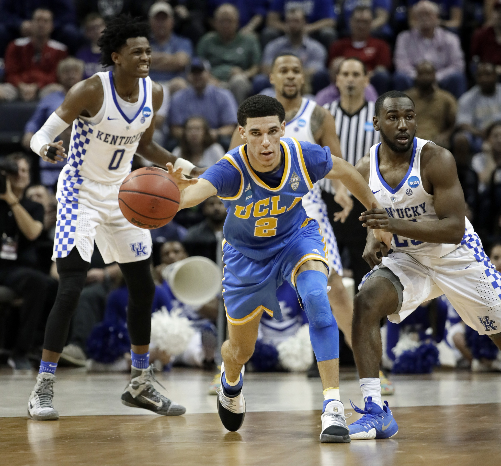 Adidas, Nike, Under Armour not interested in Lonzo Ball endorsement deal