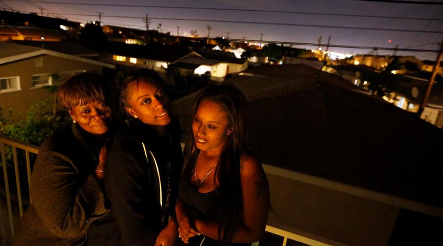 As L.A. riots raged, she was shot before she was even born. Now 25, she embodies survival and resolve