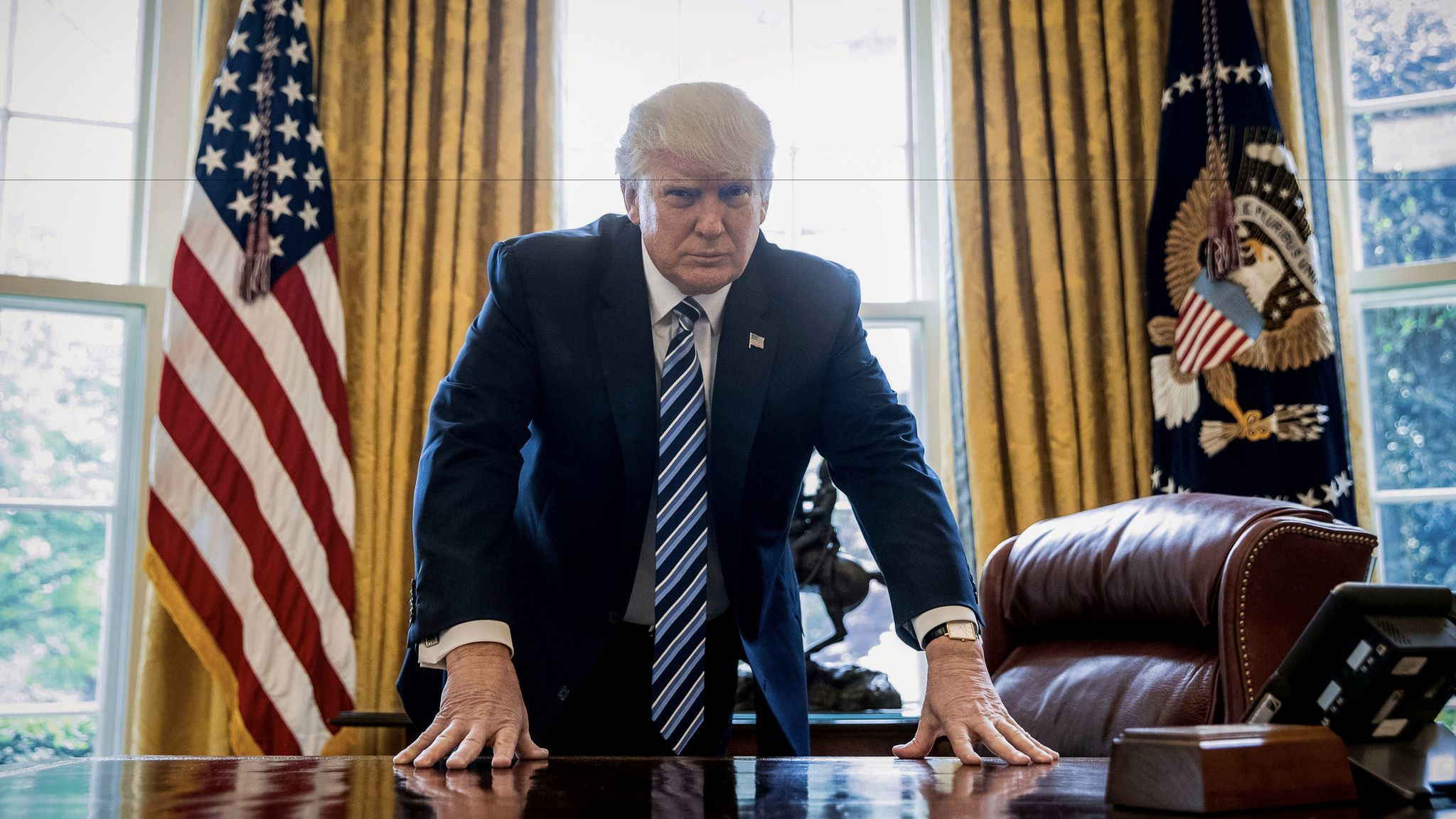 It seems like a lifetime since Donald Trump took office. But we're just  approaching his 100th day. With just a few days to go until that milestone,  ...