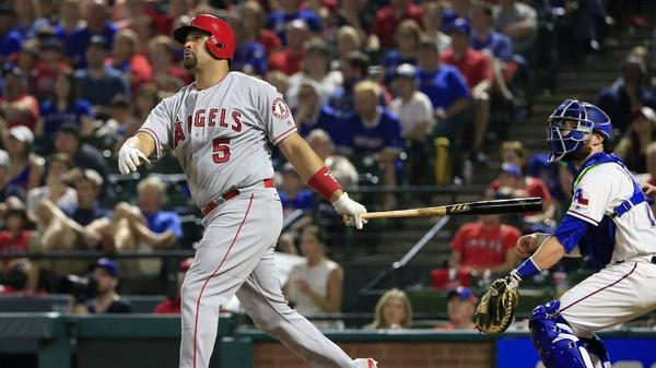 Angels get the power they need in victory over Rangers 6-3