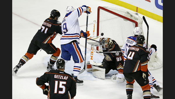 Ducks Fall Into 0-2 Hole At Home With 2-1 Loss To Oilers