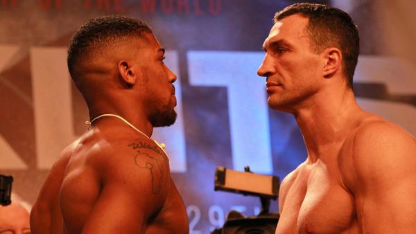 What time does the Anthony Joshua-Wladimir Klitschko fight start?