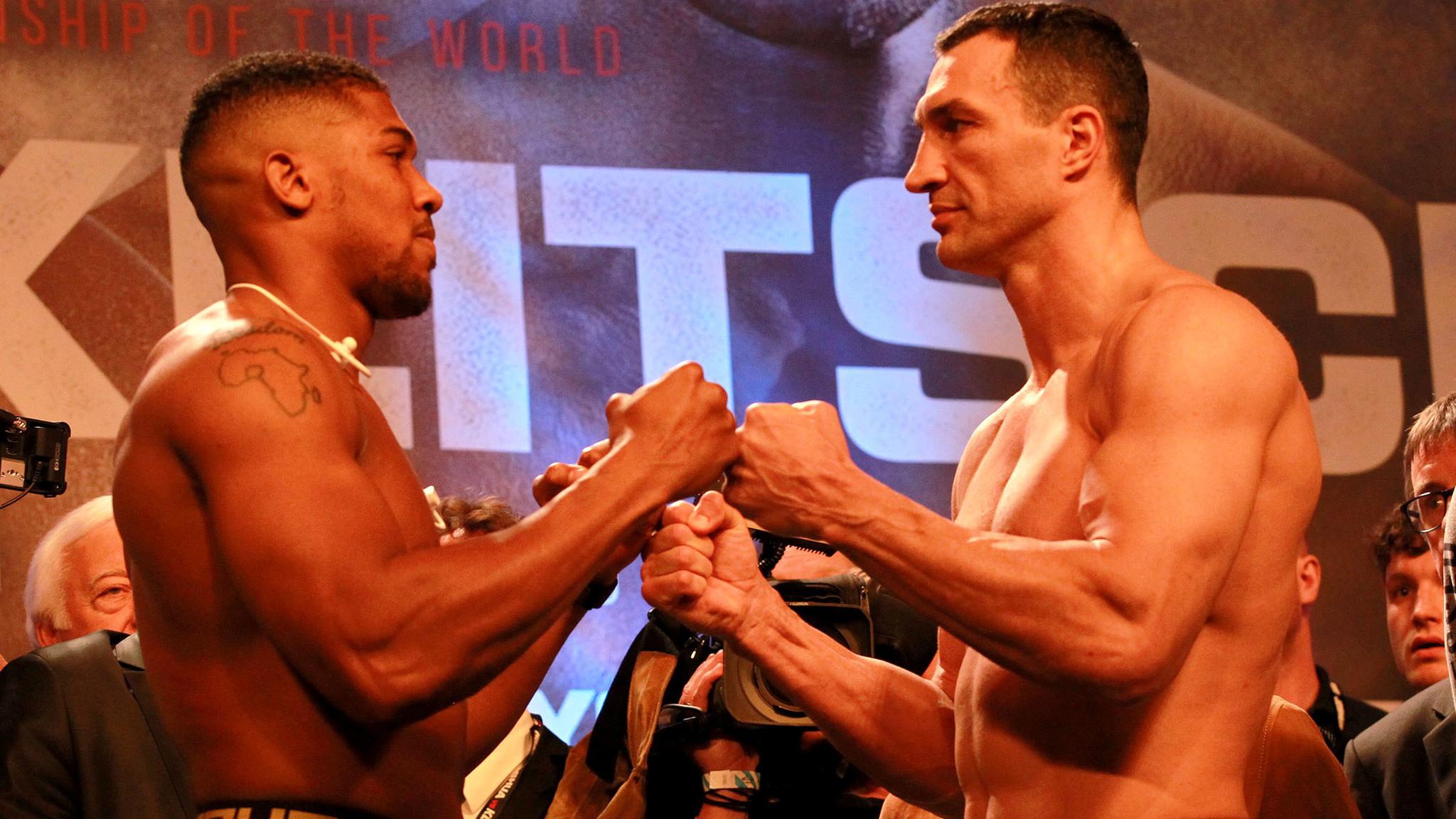 Live updates from Anthony Joshua vs. Wladimir Klitschko: Joshua wins it in the 11th with TKO