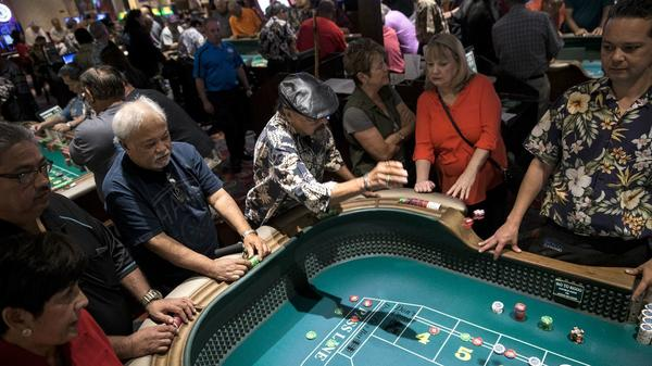 A method to their magic: Craps champions swear it's more mystique than math at the tables in Vegas
