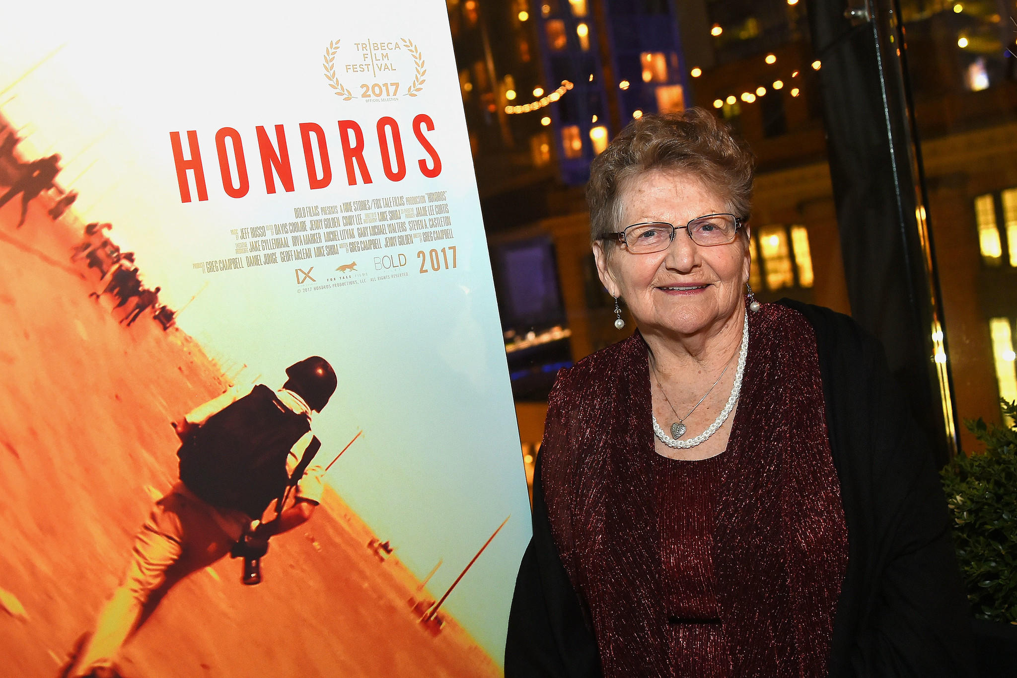 """Hondros,"" a documentary about the life of late Pulitzer Prize-winning photographer Chris Hondros, received the Audience Award for documentary at Tribeca. Pictured: Inge Hondros. (Ben Gabbe / Getty Images for Hondros)"