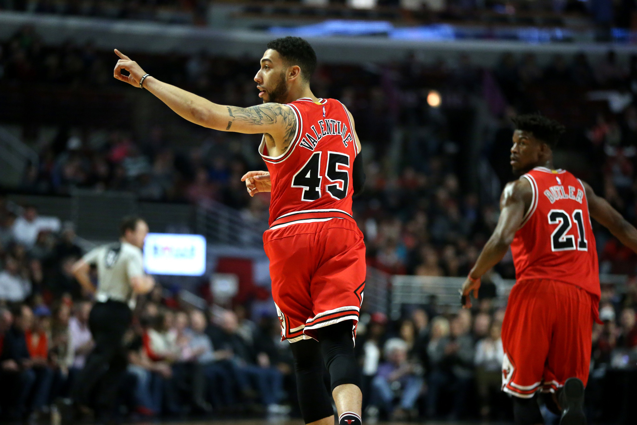 Upbeat, Poised Denzel Valentine Looks Forward To Bigger Role Next Season    Chicago Tribune