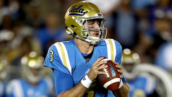 Dropped passes don't worry UCLA coaches at spring game, because Josh Rosen was throwing them
