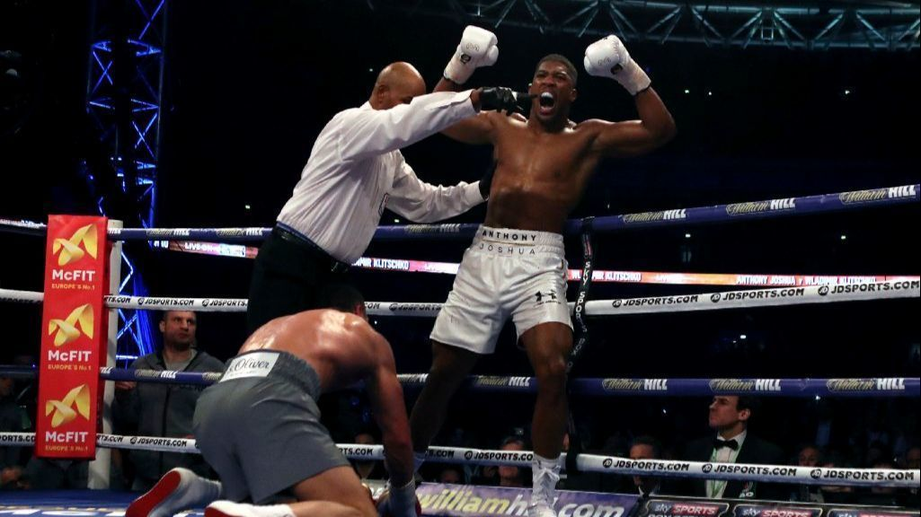 Anthony Joshua stops Wladimir Klitschko by way of TKO