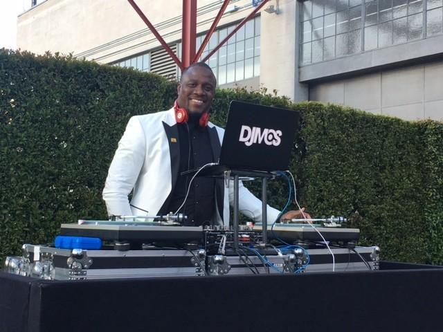 """DJ M.O.S. said he was a """"huge"""" Koons fan."""