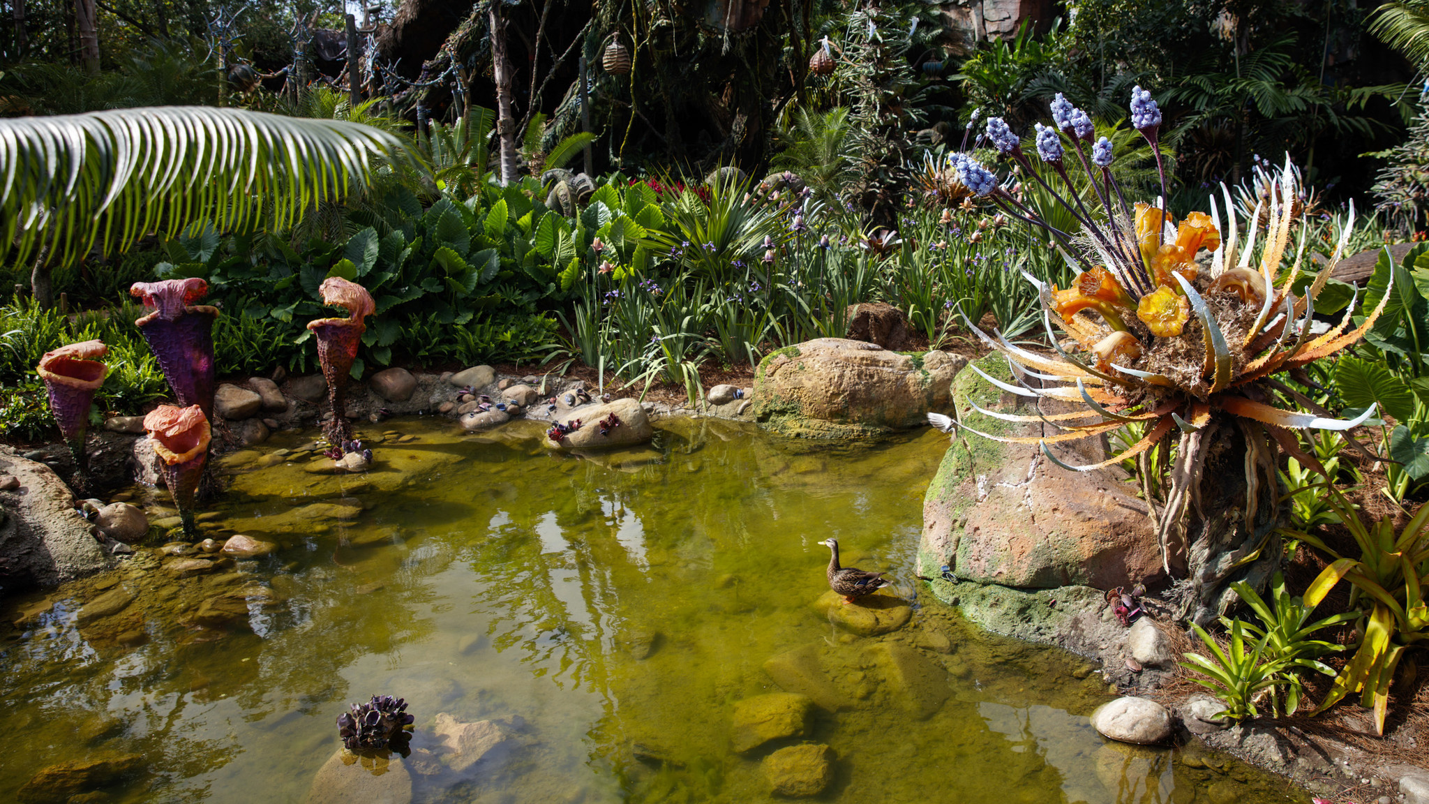 Real wildlife invades Pandora.