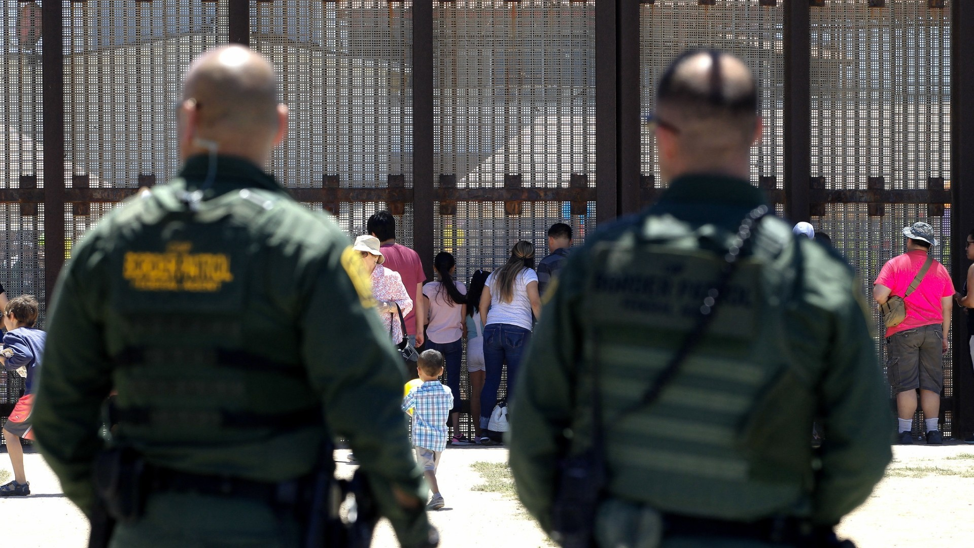 Families split by border reunite at door of hope the for Door of hope san diego