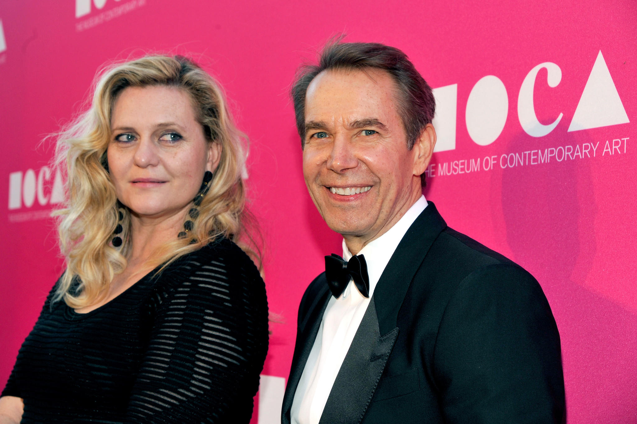 Artist Justine Wheeler Koons and honoree Jeff Koons (John Sciulli / Getty Images for MOCA)