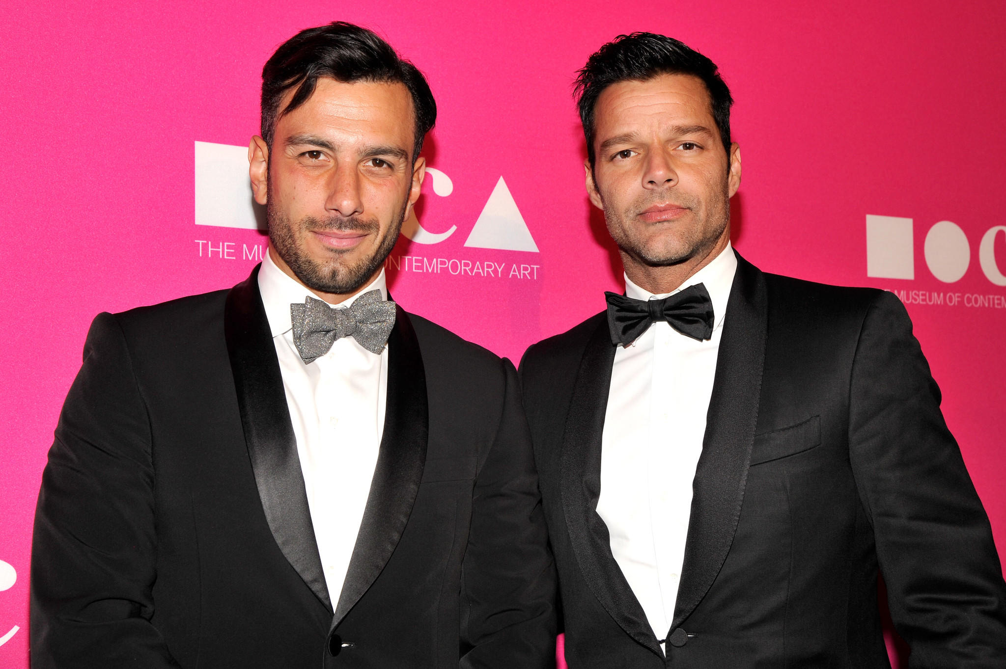Artist Jwan Yosef and singer Ricky Martin (John Sciulli / Getty Images for MOCA)
