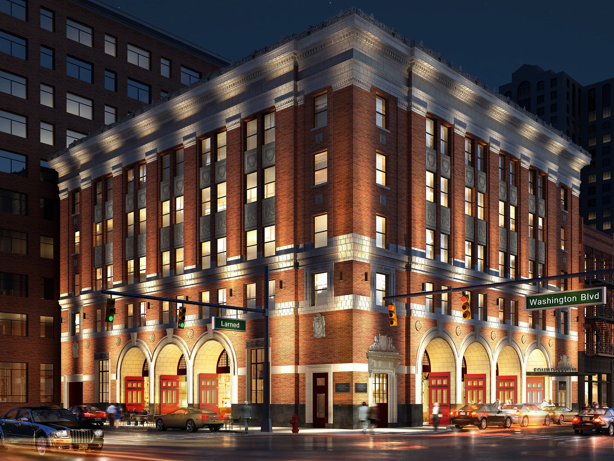Historic Firehouse To Hot Hotel Repurposed Buildings