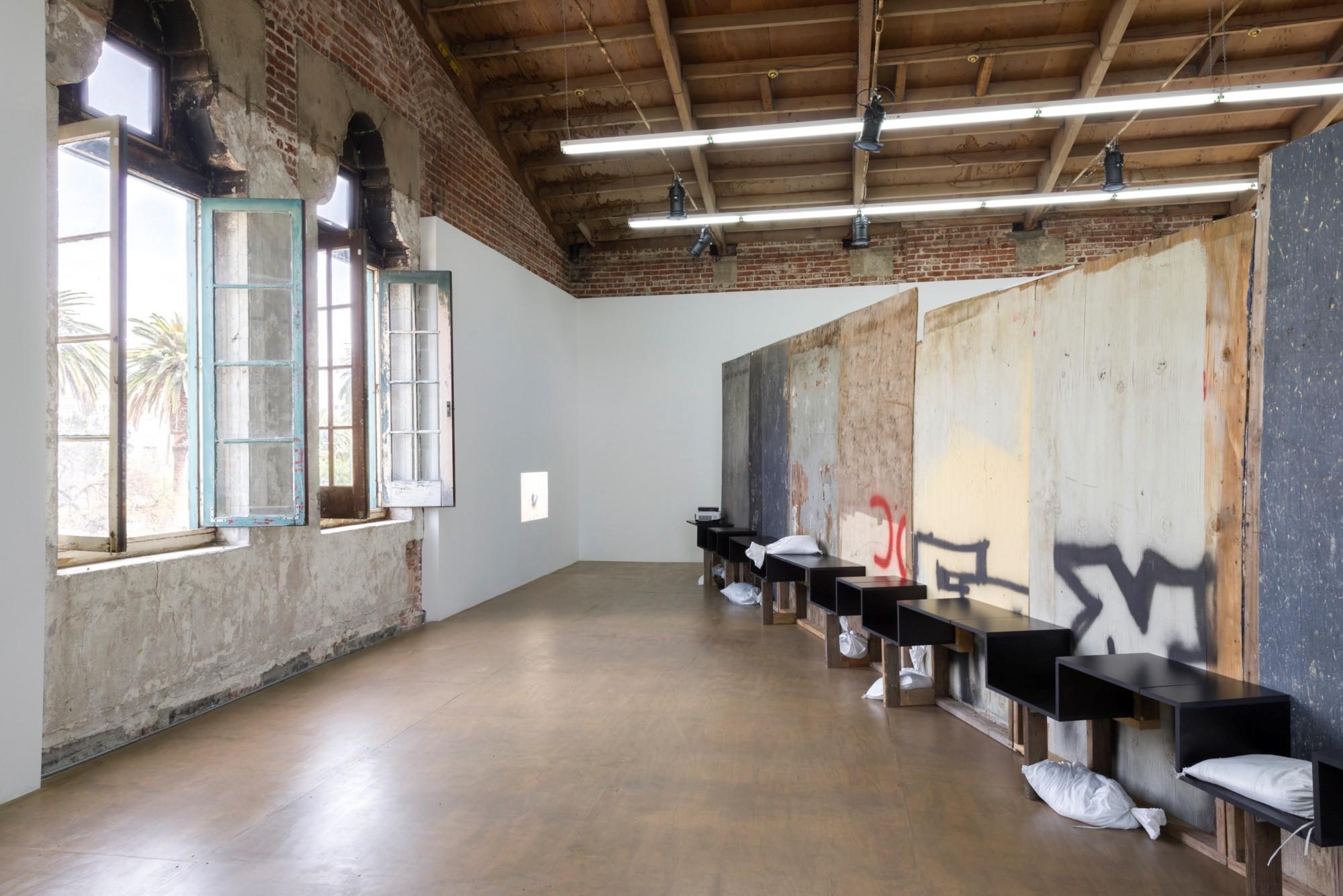"Klara Liden's ""Wall Piece,"" 2017."