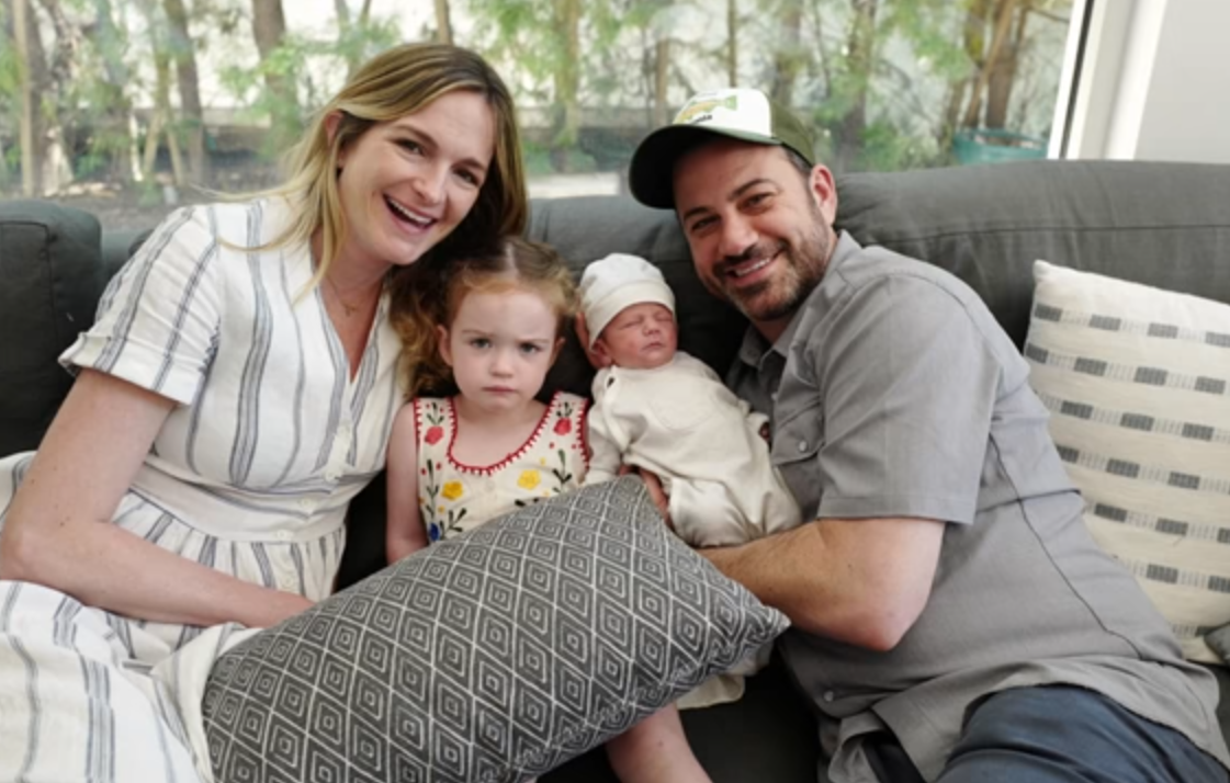 Jimmy Kimmel Gets Emotional In Monologue About Newborn Son