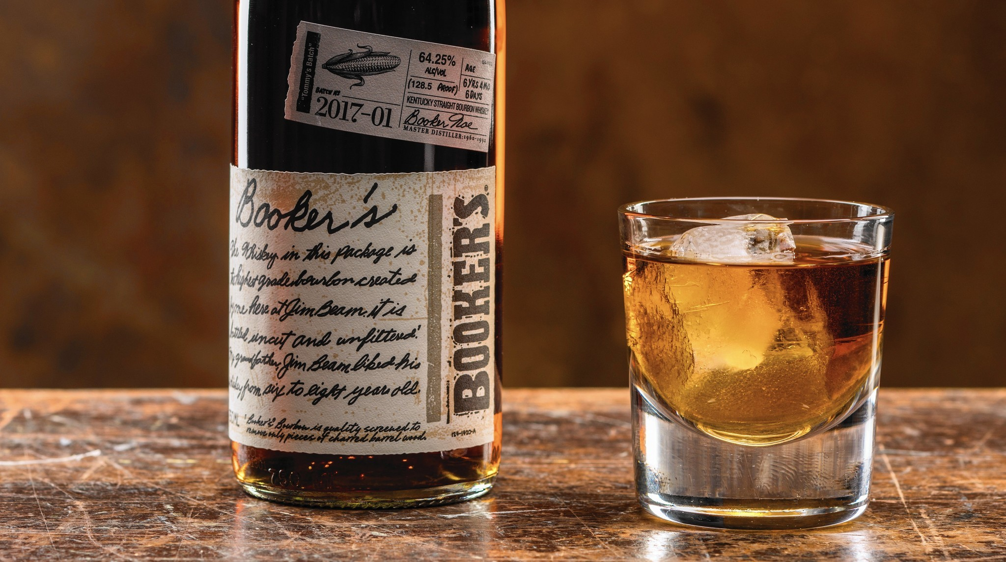 Booker's Bourbon: Don't just throw it back