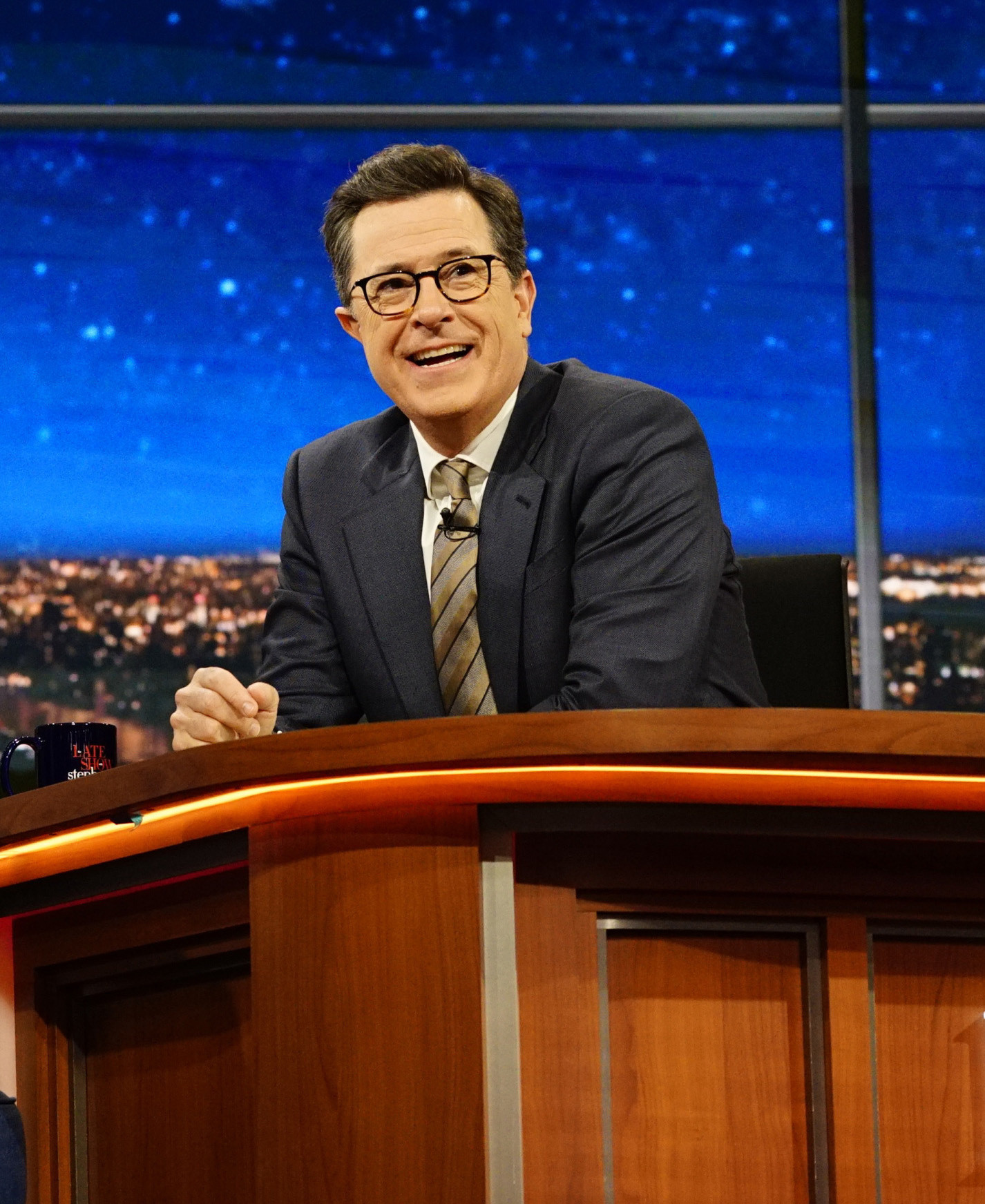 Colbert Responds To #FireColbert Backlash After Trump