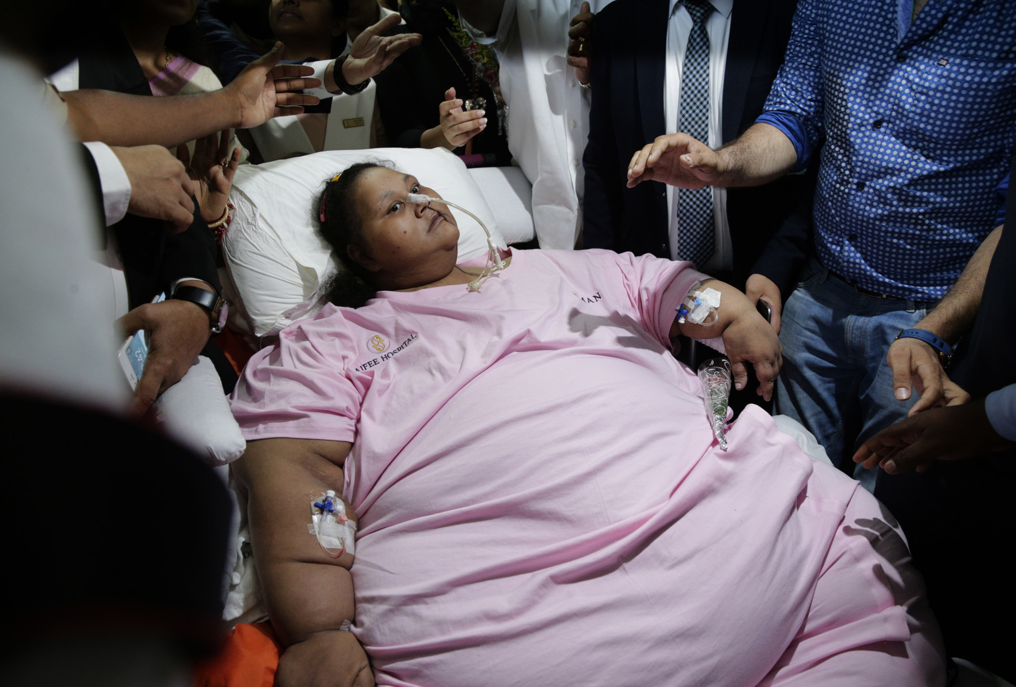 'World's heaviest woman' 715 pounds lighter - Chicago Tribune