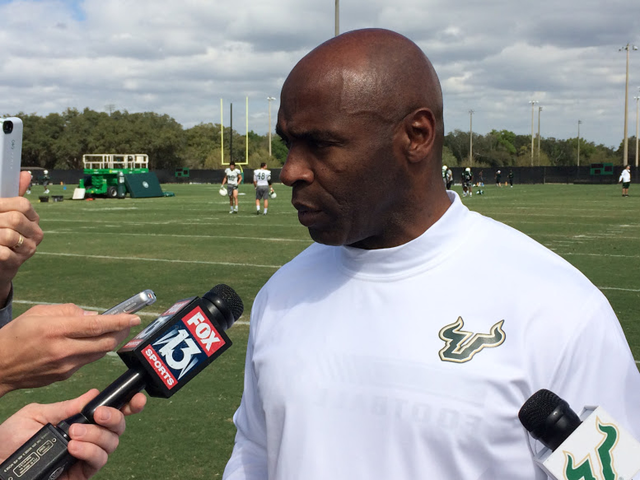 Charlie Strong Got Berated For Everyone S Sins Orlando Sentinel