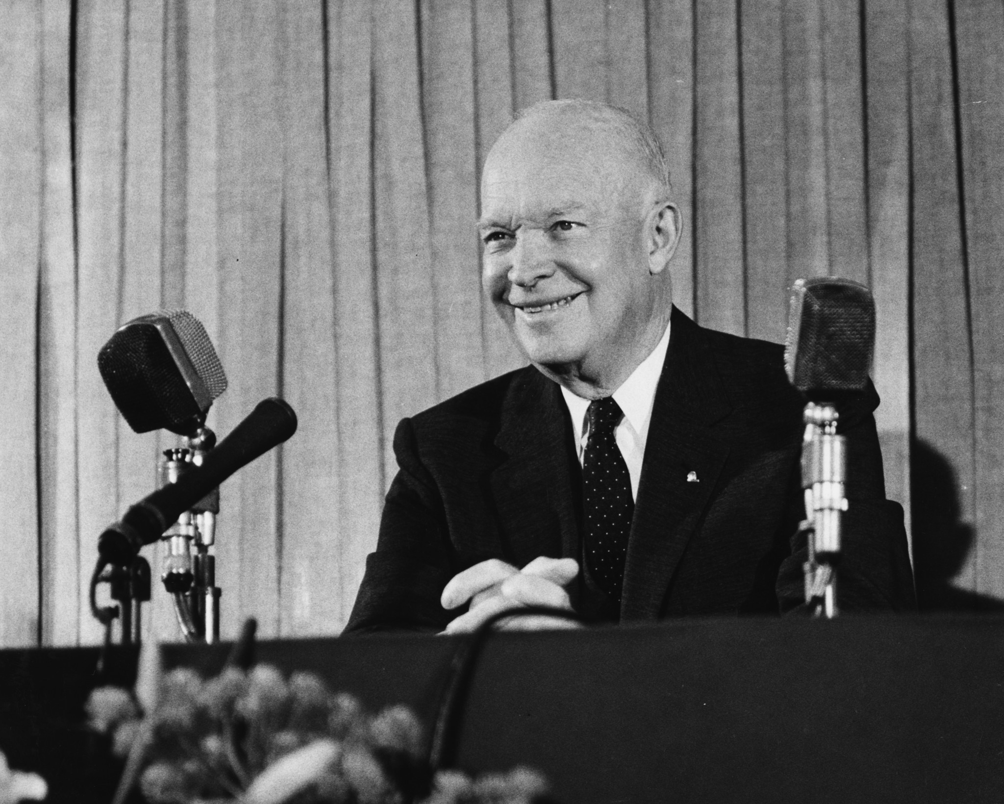 politicians and business leaders urged eisenhower to run for presidency Many of the incoming letters from the united states urged him to run for the presidency but his response was always to ask the sender to spread the word about nato: only collective security could help the united states and europe deal with the soviet union.