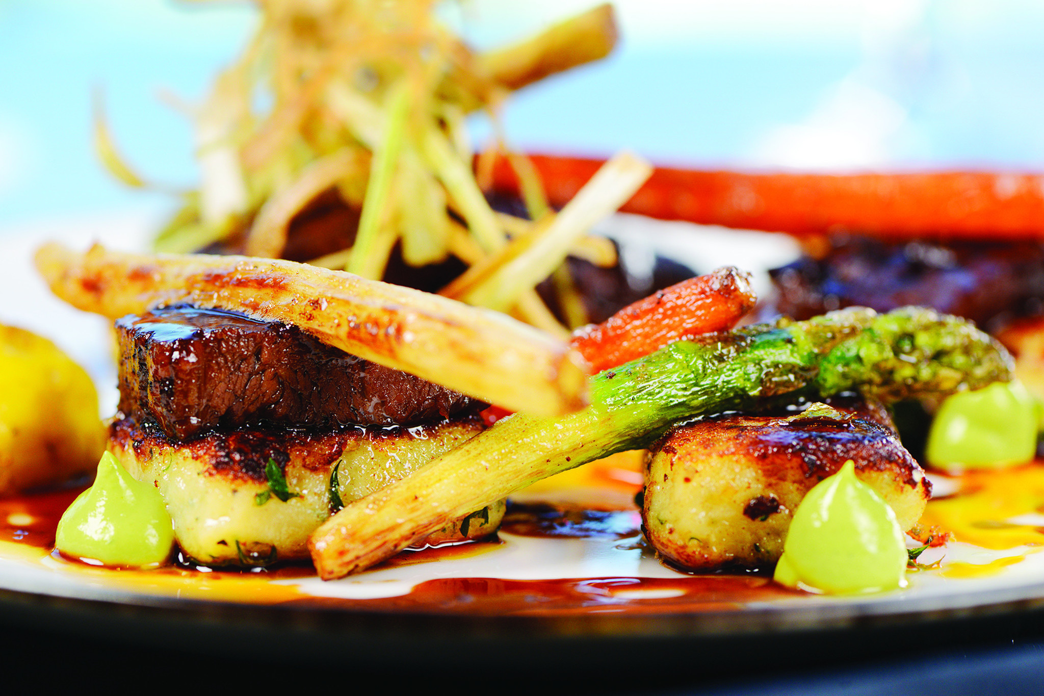 Ocean Chef Gustavo Calderon Unveils New Menu Southfloridacom - Singer cuisine
