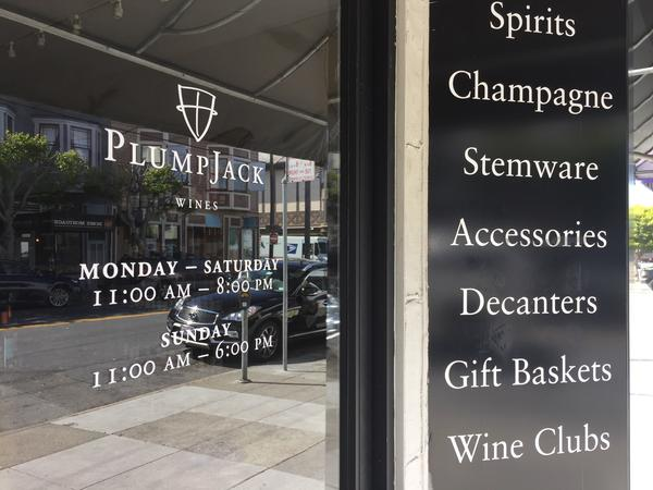 PlumpJack Group was founded by Lt. Gov. Gavin Newsom as PlumpJack Wine in 1992. Newsom is still a partner in the company, which has expanded to include restaurants, bars and resorts in addition to three wineries and two wine shops, including this store in San Francisco.