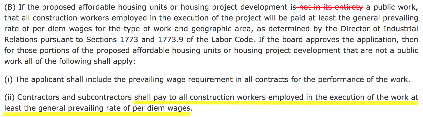 And Assembly Bill 73 From Assemblyman David Chiu (D San Francisco):  Construction Worker Job Description