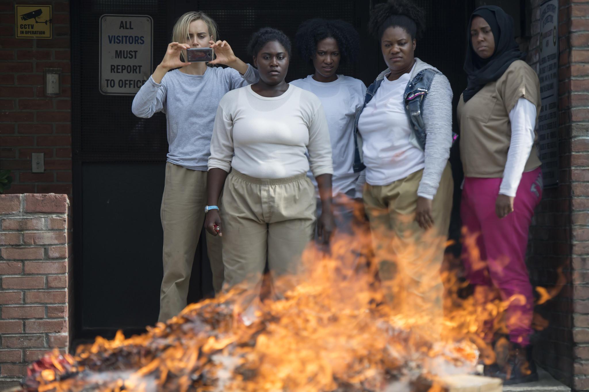 "The cast of ""Orange Is the New Black."" (Jojo Whilden / Netflix)"