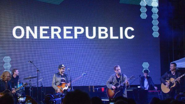 OneRepublic closes the carnival-style City Year Los Angeles party in Culver City. The annual event raised $1.8 million to help keep high-needs students in school and on track to graduate.