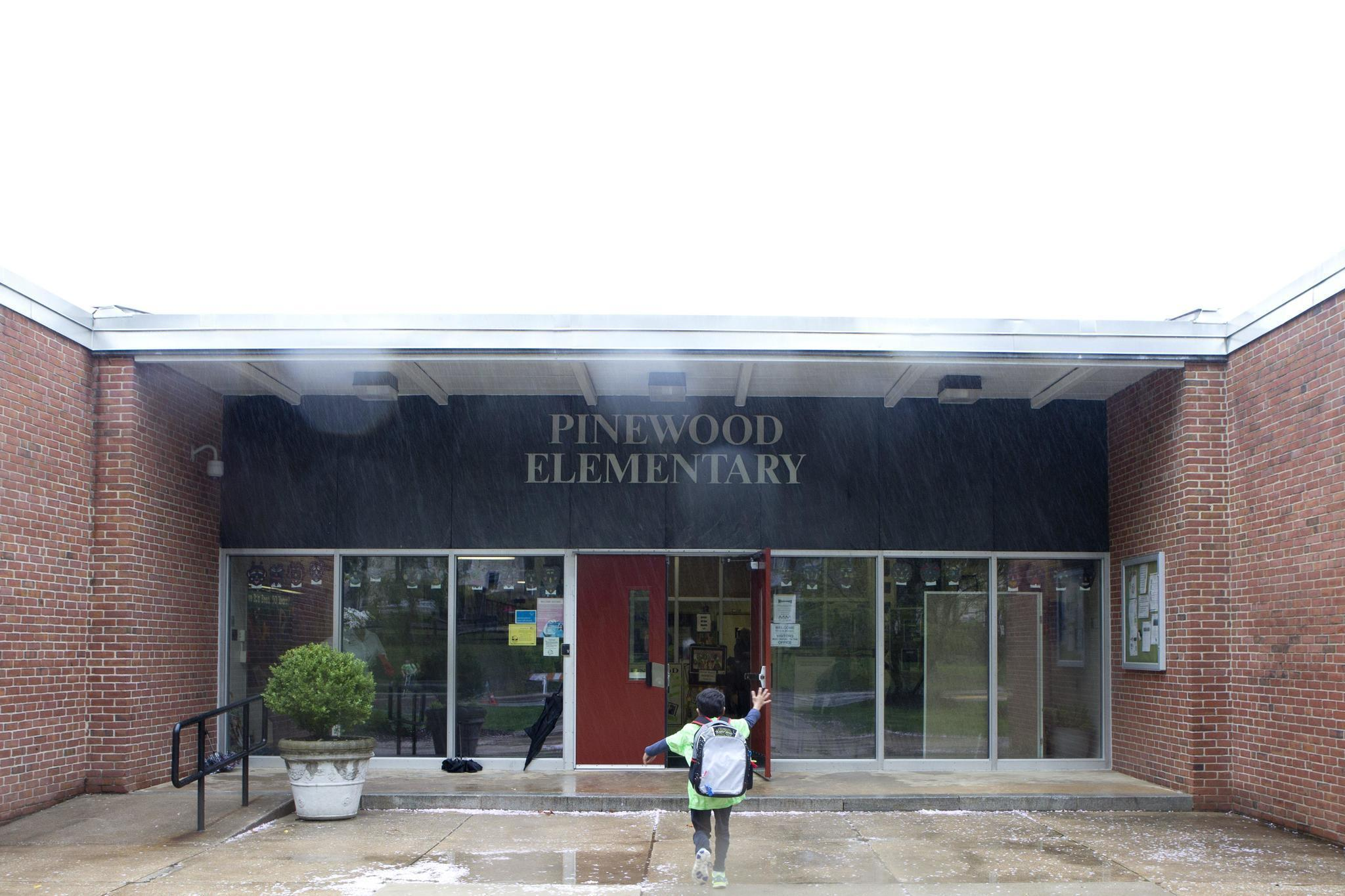 Pinewood Elementary School ~ Pinewood elementary school marks years and counting