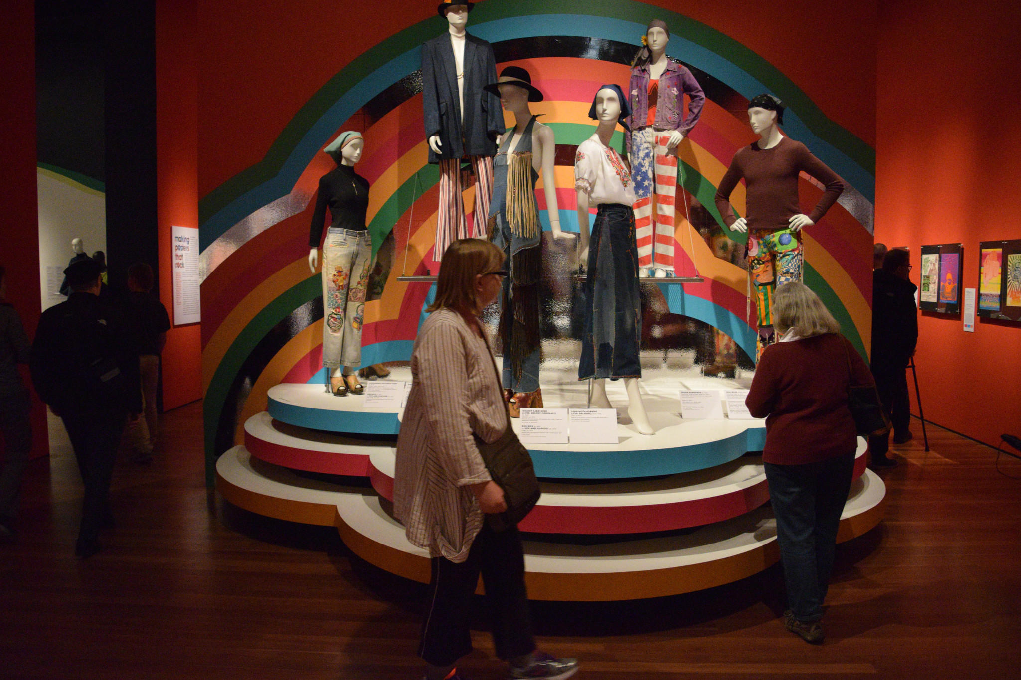 The De Young Museum in San Francisco has an exhibition dedicated to the 50th anniversary of San Francisco's Summer of Love. The fashion of the '60s is woven throughout the exhibit.