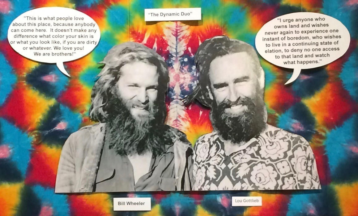 The West Sonoma County Museum tells the tale of the Hippies.