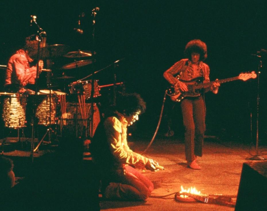 """Hendrix on Fire, 1967."""