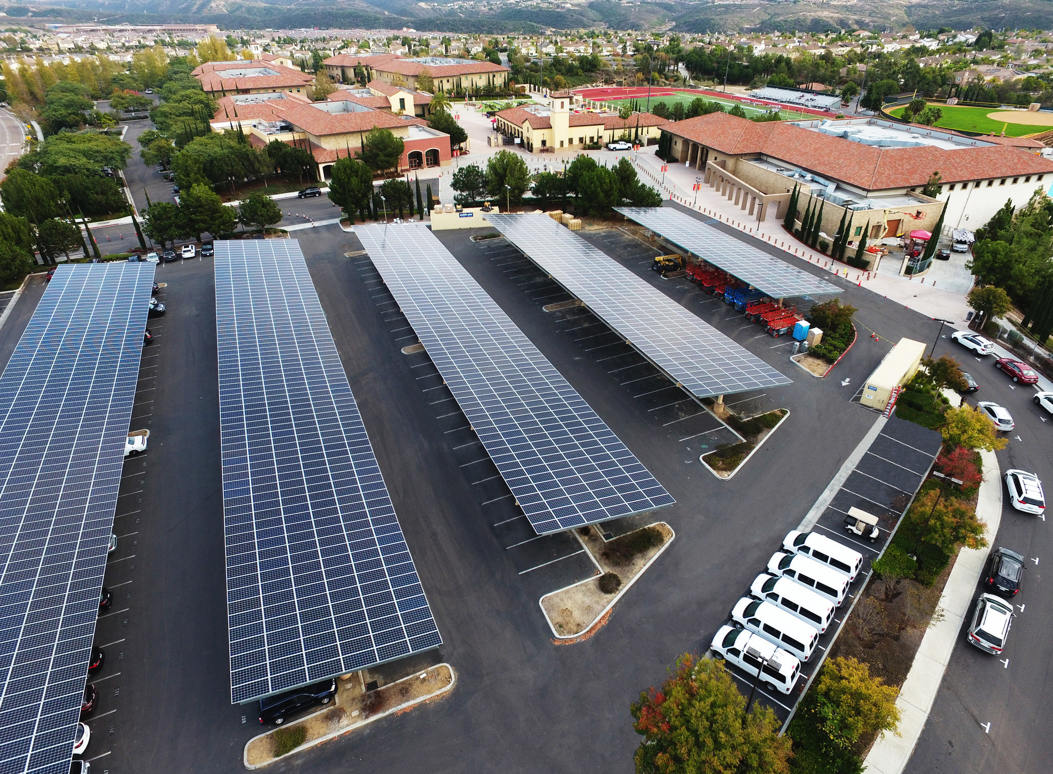 Local schools like cathedral catholic reaping benefits of Benefits of going solar