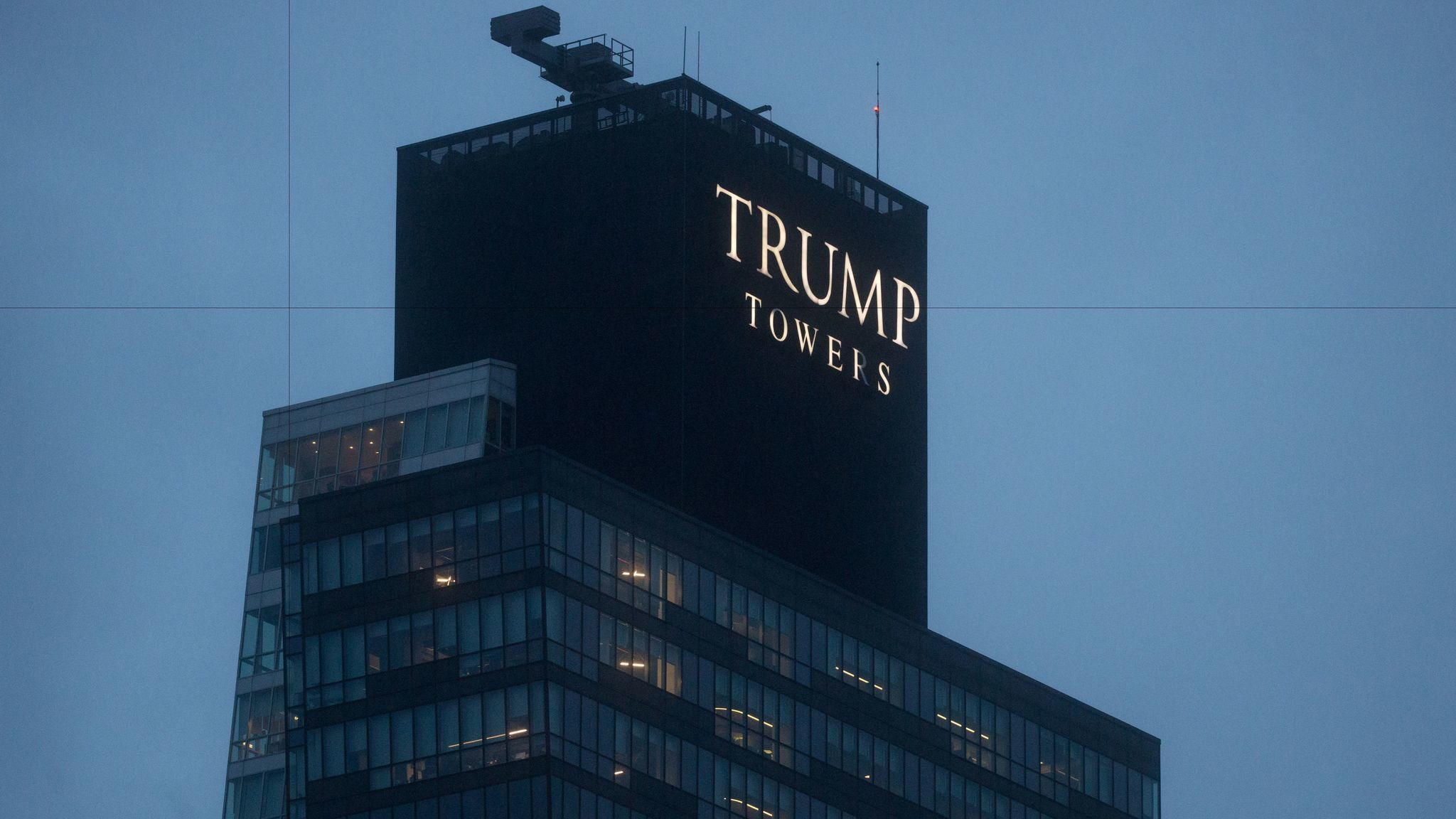 Trump Towers, Istanbul are seen in the Sisli District on November 29, 2016.
