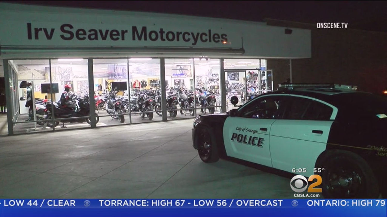 group steals two pricey bmw motorcycles in 'risky' late-night