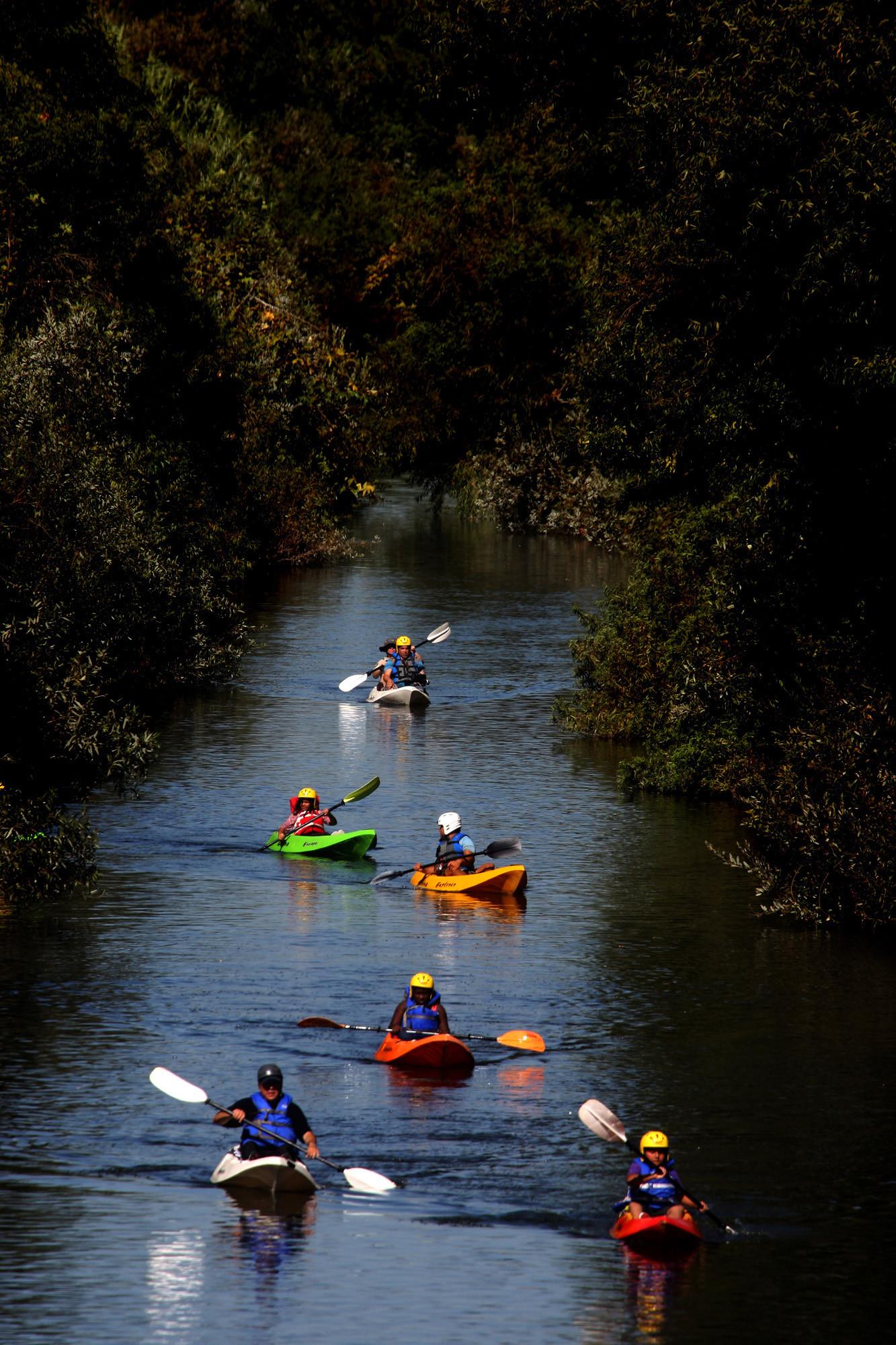 Kayak The LA River A Sparkling Retreat Amid The Urban Sprawl - Los angeles river kayak map