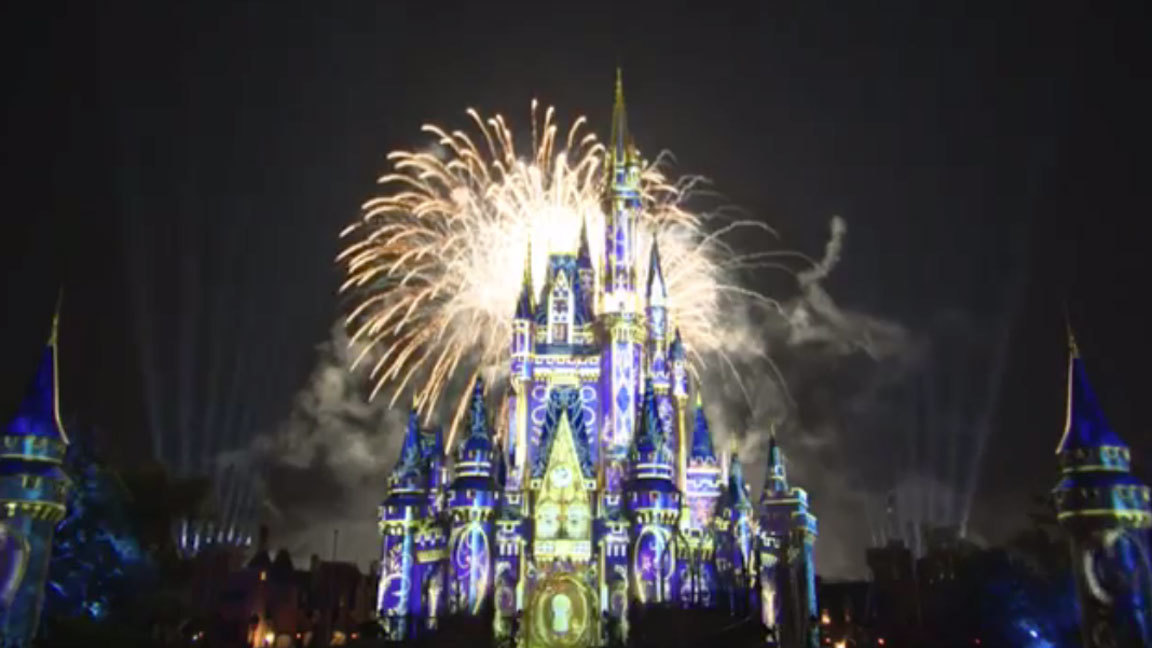 Pictures: 'Happily Ever After' fireworks show at Walt Disney World's Magic Kingdom - Orlando ...