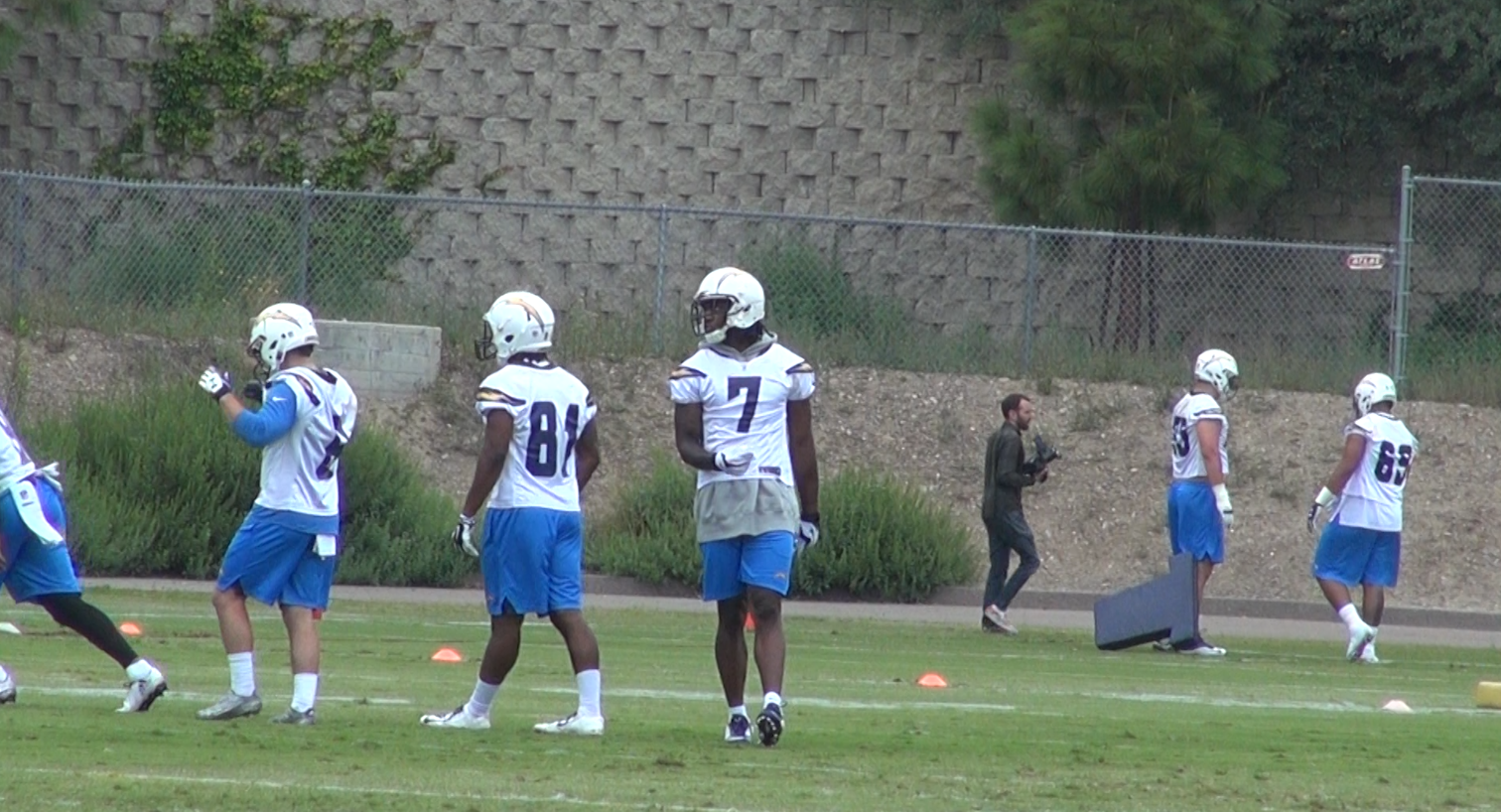 Chargers Hold First Day Of Rookie Minicamp The San Diego
