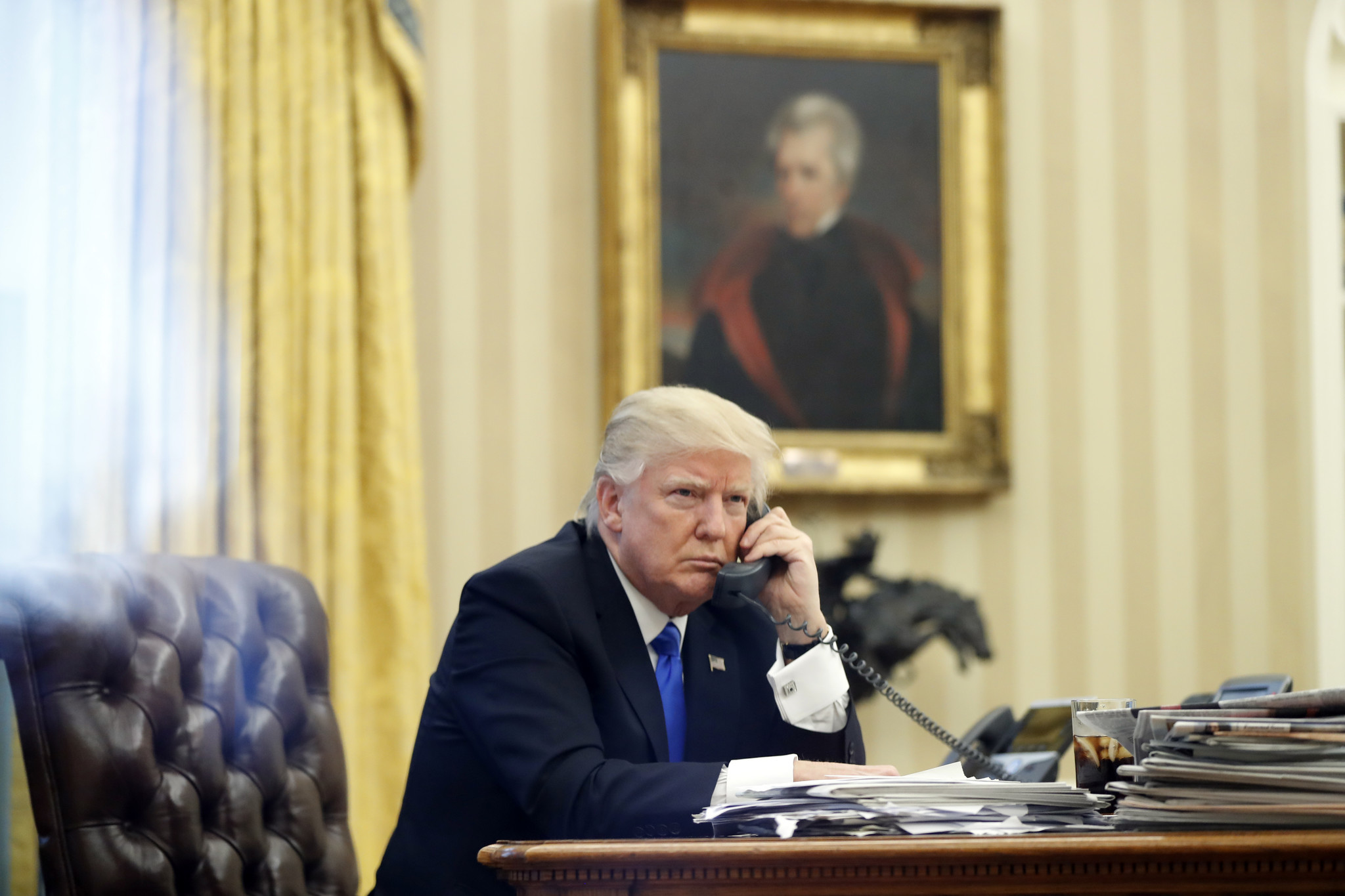 Trump has a long history of recording calls, according to former associates