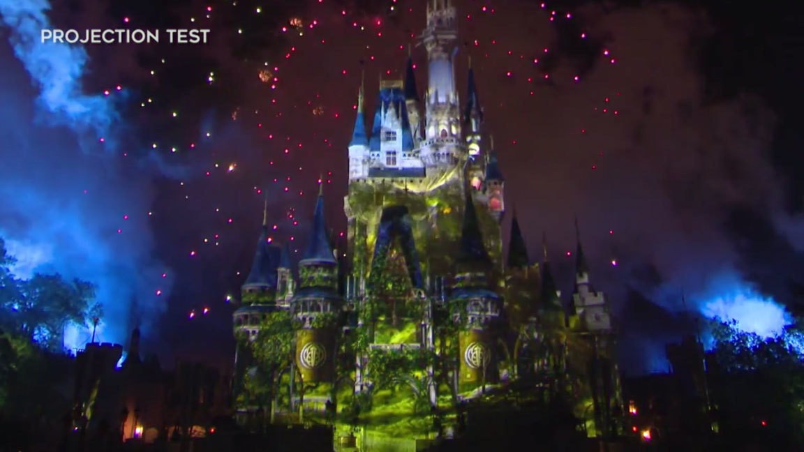 First Look Disney S New Fireworks Show Happily Ever After