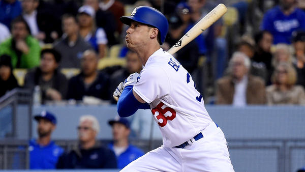 Rookie Cody Bellinger had 25 homers by the All-Star break to lead the Dodgers. (Mark J. Terrill / Associated Press)