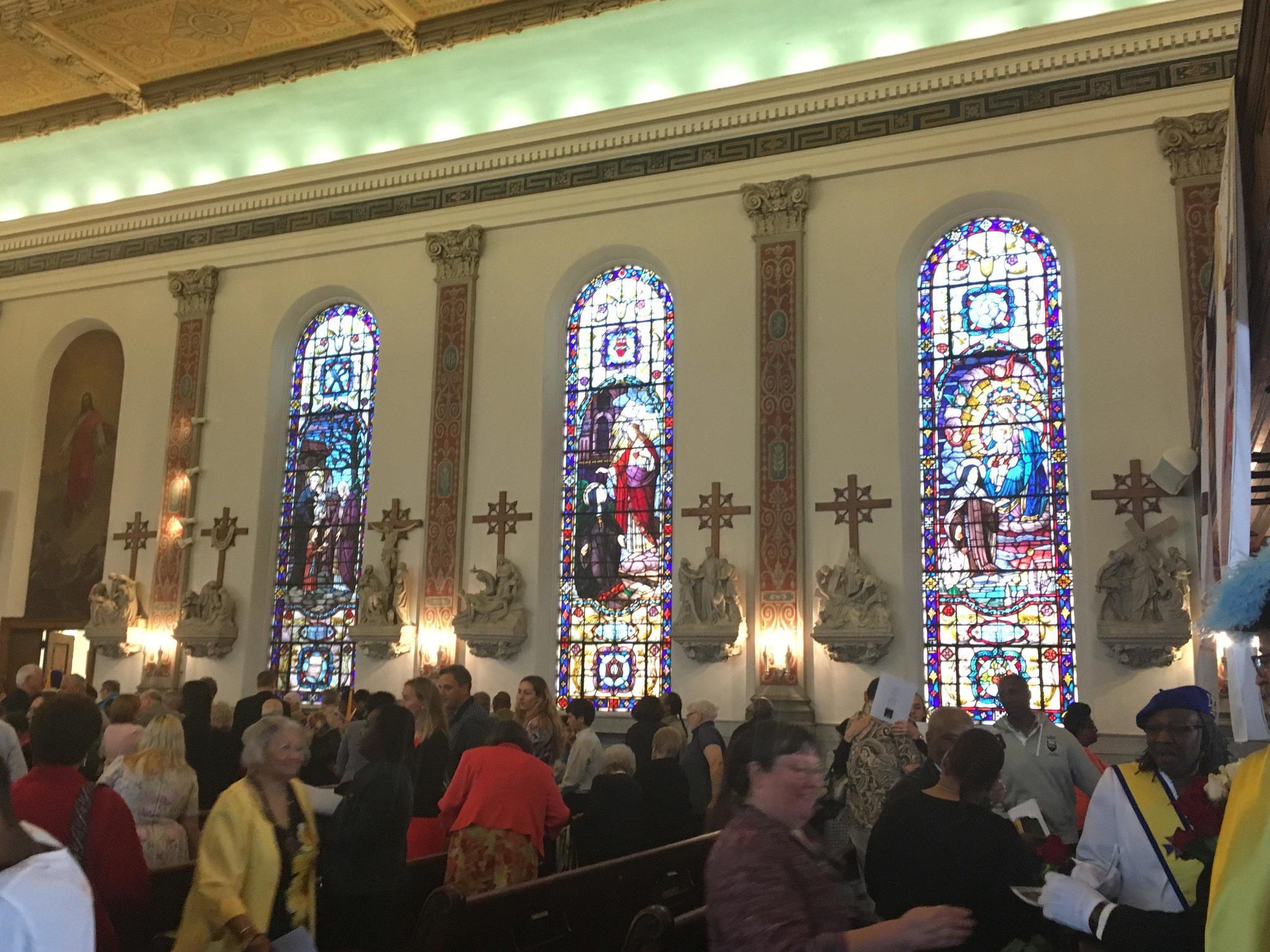 st vincent de paul catholic church encouraged to continue service