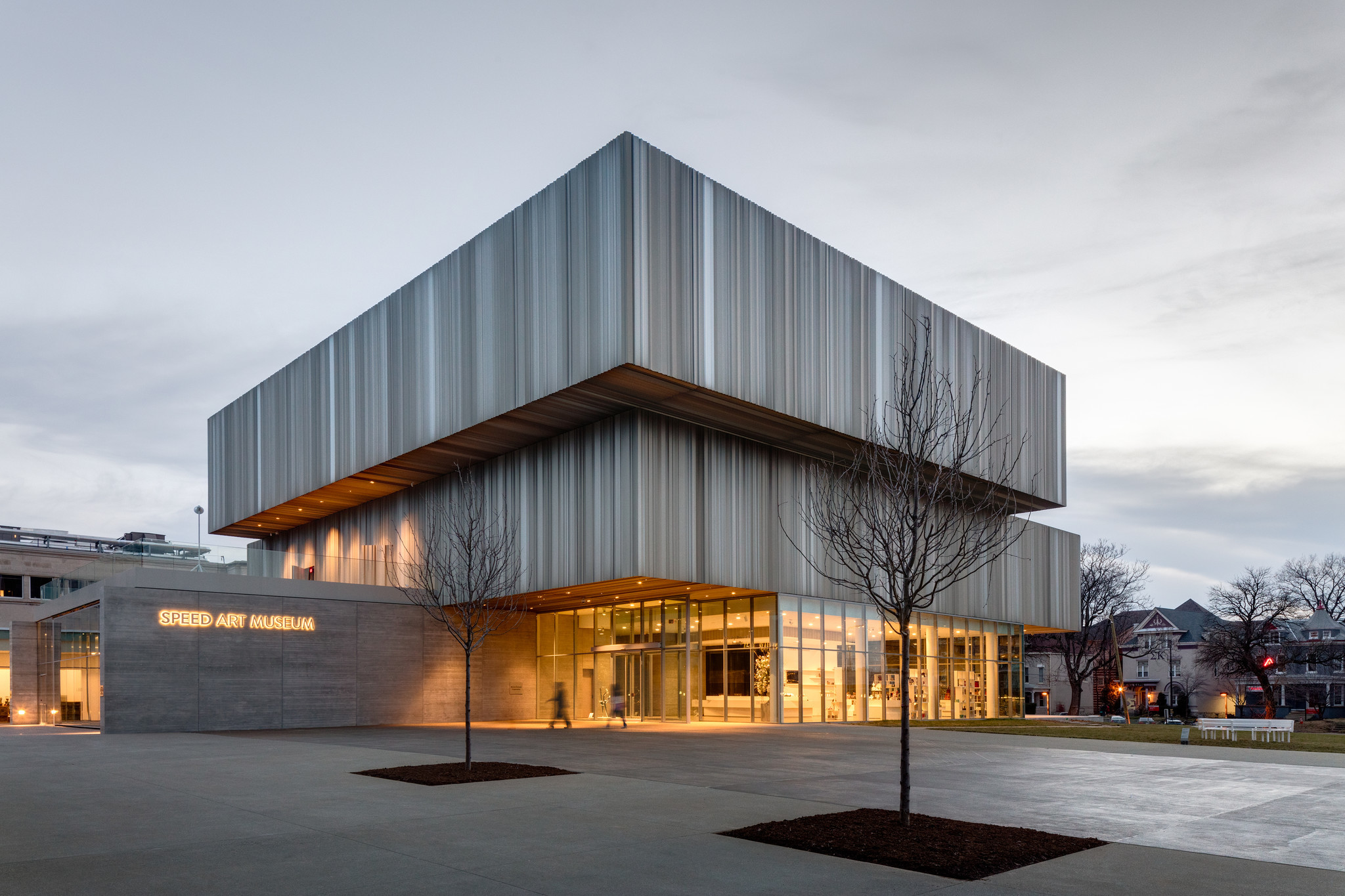 The Speed Art Museum in Louisville, Ky. — renovated and expanded by Kulapat Yantrasast and Why.