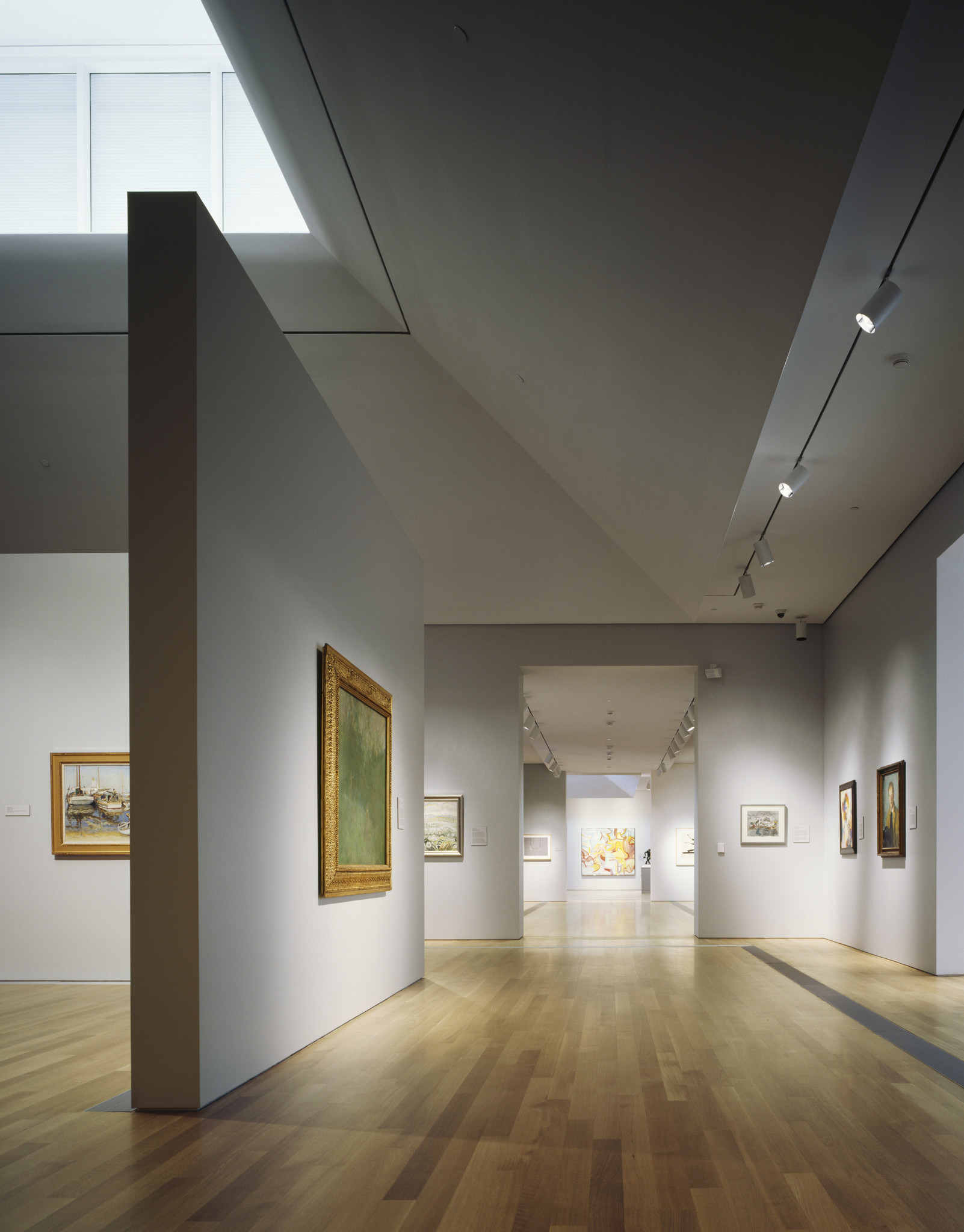 A view of the galleries at the Grand Rapids Art Museum.