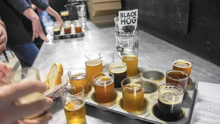 Pictures: Black Hog Brewing