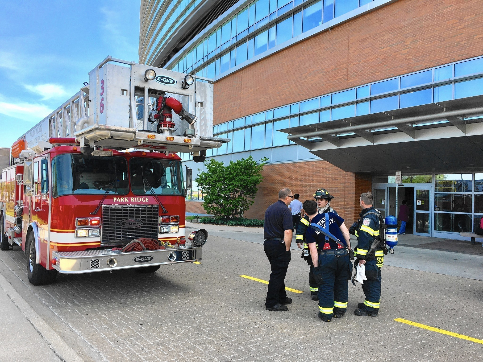 Basement fire at advocate lutheran forces closure of for Park ridge